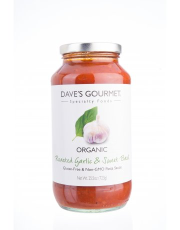 DG. Roasted Garlic & Sweet Basil Pasta Sauce (Organic) 723g