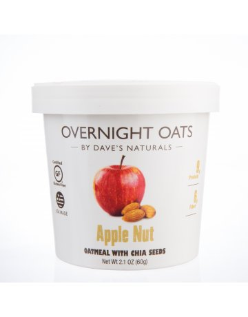 Oats Apple Nut (Oatmeal With Chia Seeds) 60g
