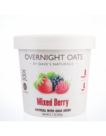 Oats Mixed Berry (Oatmeal With Chia Seeds) 60g