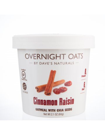Otas Cinnamon Raisin (Oatmeal With Chia Seeds) 60g