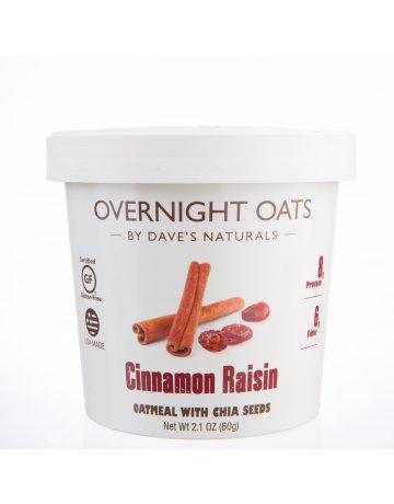 Otas Cinnamon Raisin (Oatmeal With Chia Seeds) 60g